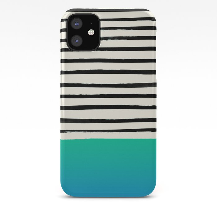 Mermaid & Stripes iPhone Case