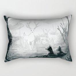 The Spirit Lives On Rectangular Pillow