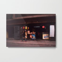 Street Photography: Peru Metal Print