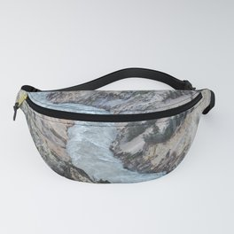 Yellowstone River Grand Canyon Adventure Fanny Pack