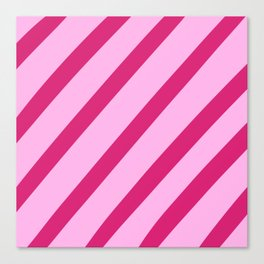 Candy Stripes Canvas Print