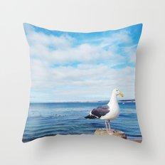 San Carlos Gull Throw Pillow