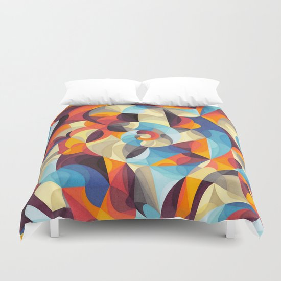Color Power Duvet Cover
