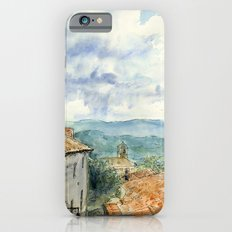 A View of Lacoste, France iPhone 6s Slim Case