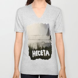 Capturing The Right Moment On Canvas Unisex V-Neck