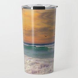 Navarre Beach Sunset Travel Mug