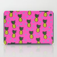 pineapples iPad Cases featuring Pineapples by Sandra Arduini