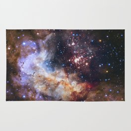 Hubble's 25Th Anniversary  Rug