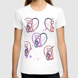 Cats love T-shirt