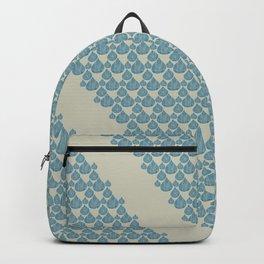 Blue drops Backpack