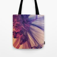 cosmos Tote Bags featuring Cosmos by JR Schmidt
