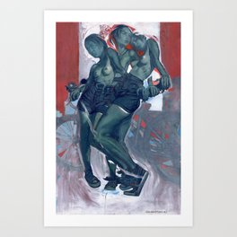 Tasha's Lovely Bike  Art Print