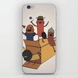 AT - Hog Dog Knights iPhone Skin