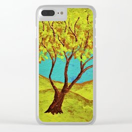 Twilight Woods #276 Clear iPhone Case