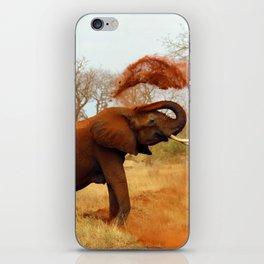 Slinging Mud iPhone Skin