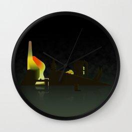 External Gazer Wall Clock