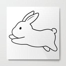 Tobe & Friends – A binky rabbit Metal Print