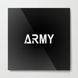 US ARMY Vintage Metal Print