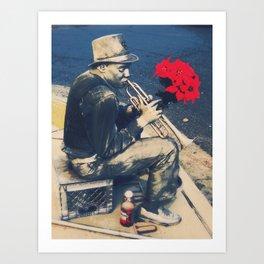 New Orleans Hustle Art Print
