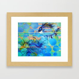 Sun, Sand and Surgeonfish in Sharm Framed Art Print