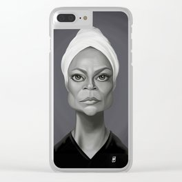 Eartha Kitt Clear iPhone Case
