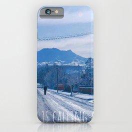 I must go iPhone Case