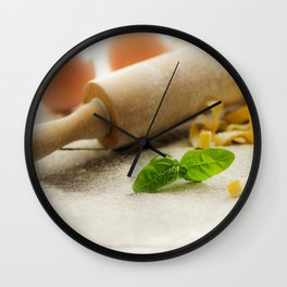 Pasta decoration Wall Clock