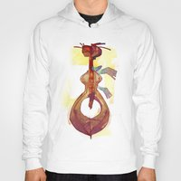 guitar Hoodies featuring Guitar by tipa graphic
