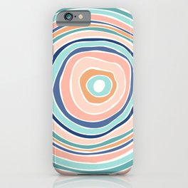 Rainbow (Infinite Loop) / Abstract Shapes iPhone Case