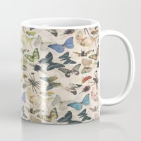 insect Mugs featuring Insect Jungle by Galvanise The Dog