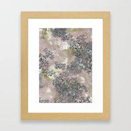 Pink Texture Framed Art Print