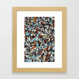 Pattern № 21 Framed Art Print