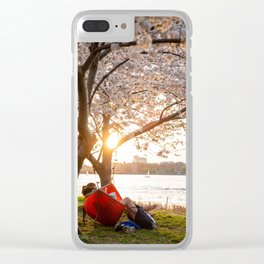 Flower photography by Alex Iby Clear iPhone Case