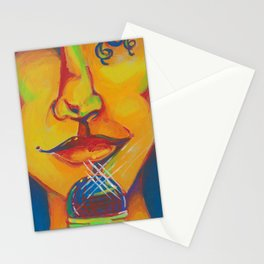 Mic Kiss Stationery Cards