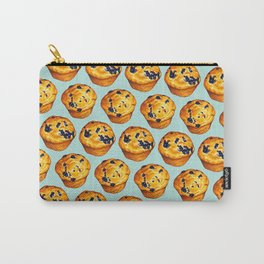Blueberry Muffin Pattern Carry-All Pouch