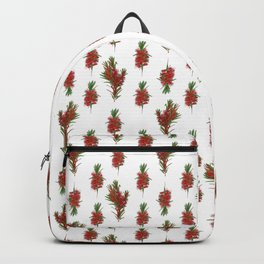 Australian Native Bottlebrush Pattern Backpack