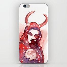 devil moon iPhone Skin