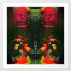 303030 (J Nude Glitch) Art Print