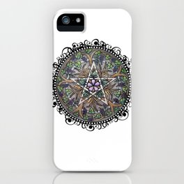 Abundance Pentacle iPhone Case