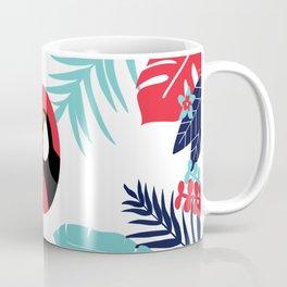 toucan and foliage Coffee Mug