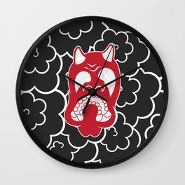 Hannya Cloud Wall Clock