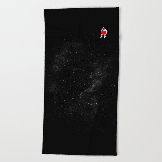Love Space Beach Towel