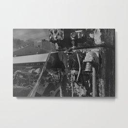 Left to Rust Metal Print