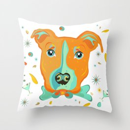 Everything is coming up Rosie Throw Pillow