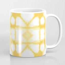 Shibori Ahi Yellow Coffee Mug