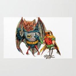 Bat and Robin Rug