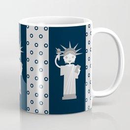 Liberty Statue smiling Coffee Mug