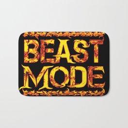 Beast Mode Fired Up Bath Mat