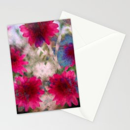 flowers abstract Stationery Cards