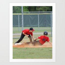 2012 Little League All-star Baseball Richmond Hill Ga.  Art Print